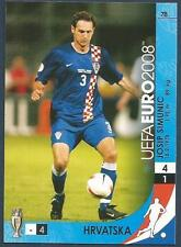 PANINI UEFA EURO 2008 TRADING CARD- #078-HRVATSKA-CROATIA-JOSIP SIMUNIC