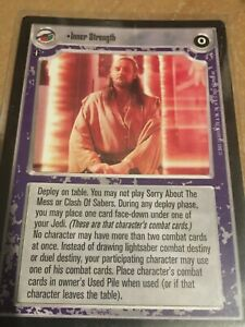 SWCCG Ref III Inner Strength NM Star Wars CCG Reflections 3