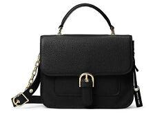 NWT Michael Kors Cooper Large Leather School Satchel Messenger Crossbody Bag