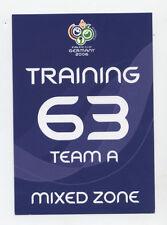 Orig.Ticket   WM Deutschland 2006  3.Platz  DEUTSCHLAND - PORTUGAL // Training A