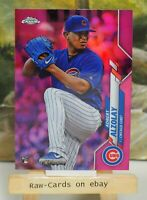 2020 ⚾ Topps Chrome Pink Refractor Silver Pack Insert Adbert Alzolay Cubs RC