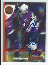 Colby Armstrong Signed 2001/02 Upper Deck Prospects CHL Game Used Card #32