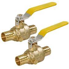 405q001 2 Full Port X Pex Barb Ball Valve Water Shut Off With Drain Inch Brass