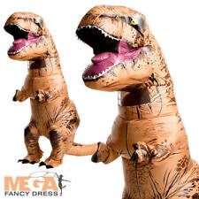 GONFIABILE gigantesco T-Rex Dinosauro Costume Adulti Costume Di Halloween Uomo Donna