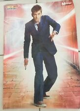 Dr Who Sunday Morror Double Sided  Poster - David Tennant/Dalek Dash Rare Poster
