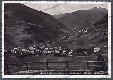 BRESCIA VEZZA D'OGLIO 06 VALLE CAMONICA Cartolina FOTOGRAFICA viaggiata 1954