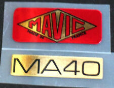 Mavic MA40 wheel decals set of 2 (for 1 wheel)