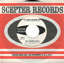 NYC DOO-WOP-SOLDIER BOYS-SCEPTER-1230-I'M YOUR SOLDIER BOY/YOU PICKED ME