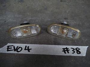 MITSUBISHI LANCER EVOLUTION EVO 4 IV CN9A GSR 4G63 Clear Indicators damage #38