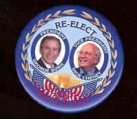 DICK CHENEY 2004 ELECTION YOUR FIRED! GEORGE BUSH COLLECTOR PIN