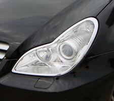 MERCEDES BENZ CLS CLASS 4 DOOR SALOON W219 NEW CHROME HEADLIGHT TRIMS 2005 - 11