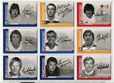 2009-10 ITG 1972 The Year In Hockey Autographs #ADW Dunc Wilson