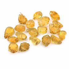 Natural Citrine Carving 291 Cara Leaf Shape Super Fine Quality Loose Gemstone