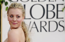 Kaley Cuoco 8X10 sexy red carpet at Golden Globes