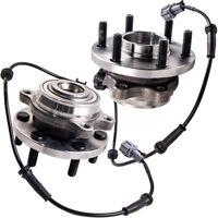 2x Front Wheel Bearing HUB Hubs for Nissan Navara D40 D22 YD25 VQ40 R51 ABS 4WD