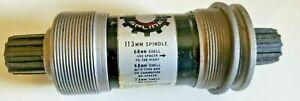 TRU VATIV POWER SPLINE Bottom Bracket 68 OR 73 x 113 BC  1.37/24 NEW & ADAPTER