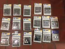 Job Lot, Polished Chrome Light Switches, Plug Sockets, Dimmers,