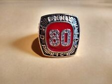 2010 San Francisco 49ers Jerry Rice Championship collectible Display Ring 11