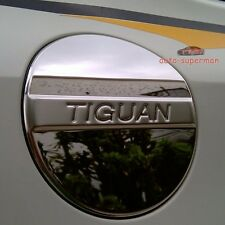 304 Stainless Steel fuel door gas cover tank cap Chrome For VW tiguan 2008-2015