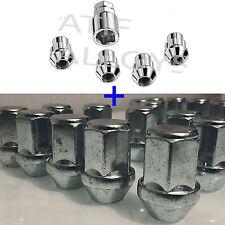 Set of 16 M12 x 1.5 19mm Hex Alloy Wheel Nuts 4 Locking Nuts Mondeo Focus Ka