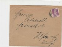 germany 1920s stamps cover ref 21057