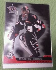2002 PACIFIC VANGUARD NHL HOCKEY CARD #9 MARTIN BIRON BUFFALO SABRES