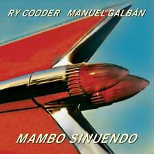 RY & GLABÁN,MANUEL COODER - MAMBO SINUENDO ETCHED ARTWORK ON SIDE D  LP NEW!