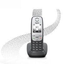Siemens Gigaset A415 Negro Análogo Inalámbrico Manos Libres Teléfono fijo