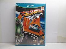 Hot Wheels: World's Best Driver (Nintendo Wii U, 2013) NEW AND SEALED
