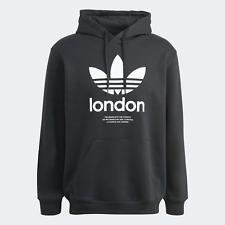 Adidas Originals Hombre un Clásico Sudadera con Capucha Que Honours London Negro