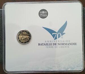 2 euro Frankreich/France 2014-Bataille De Normandie -Bu/coincard (no.03609)