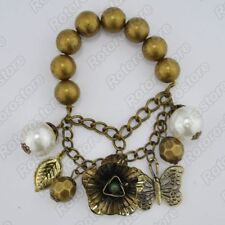 Unbranded Pearl Chain/Link Costume Bracelets