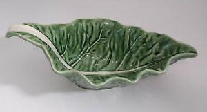 Bordallo Pinheiro Green Leaf Bowl Small