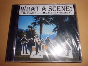 THE CHARLIE MORRIS BAND Live In Switzerland What A Scene Blues CD 11 Trx RAR+NEU