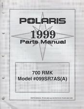 1999 POLARIS SNOWMOBILE 700 RMK PARTS MANUAL 9914852 (164)