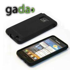 Schutzhülle f Samsung Galaxy S2 + plus i9105 Silikon Case Cover Tasche Etui