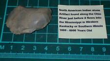 Ancient artifact, cutting tool found along the Ohio river, #S2901