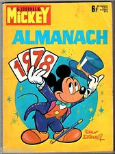 LE JOURNAL DE MICKEY ~+~ ALMANACH 1978