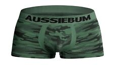 Aussiebum Underwear Bodystretch Camo Green Small S Mens Boxers Poss Gay Interest