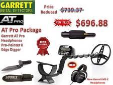 Garrett AT Pro Submersible Metal Detector w/ProPointer II, Headphones & Digger