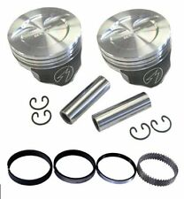Speed Pro H859CP60 Chevy 383 388 Dished Hyper Pistons & Moly Rings Kit 060 SBC