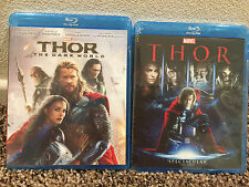 Thor 1 and Thor 2 The Dark World Combo Set Bundle Includes Both Movie [Blu-ray]
