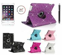 Bling 360° Rotating Smart Stand Case Cover APPLE iPad2/3/4/PRO,Air1/2,Mini4/321