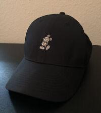 NIKE DRI-FIT Disney Parks Mickey Mouse Hat Cap Black Legacy91 ~ Adjustable