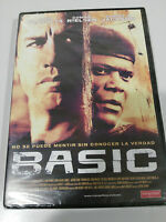 Basic DVD John Travolta Samuel L.JACKSON Espagnol English New Neuf - Am