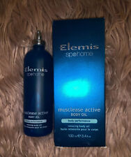 Elemis Musclease Active Body Oil Body Performance Relaxing 3.4 fl oz / 100 ml
