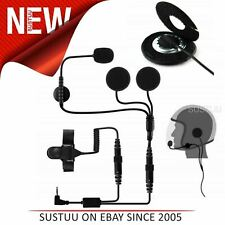 Motorcycle/ Bike Helmet Speaker &  Microphone System│For Cobra Two Way PMR Radio