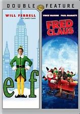 Elf / Fred Claus DVD 2003 Will Ferrell 2 Disc