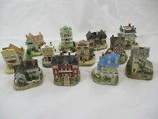 00004000 Lot of 12 - International Resourcing Services - Houses - Village - Miniatures