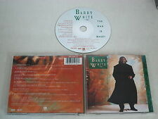 BARRY WHITE/BARRY WHITE: THE MAN IS BACK!(A&M RECORDS 395 256-2) CD ALBUM